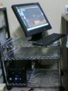 メタルラックは、元台所で使っていた棚。再活用です。