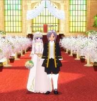 (マビノギで)結婚しました。