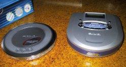 SL-CT800とアイワXP-MP3