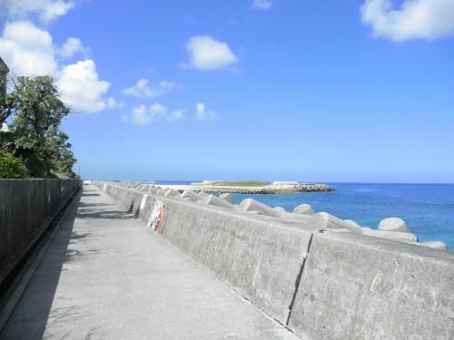 防波堤からの眺め