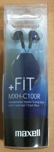 マクセルのMXH-C100R。1000円ぐらいで買いました。