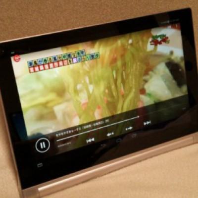 やはりテレビやビデオは大画面に限ります。スタンドもありますし、nasneの視聴環境としては良好です。
