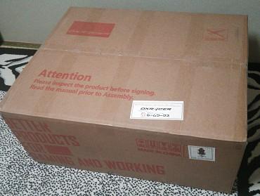 このような箱で届きました。