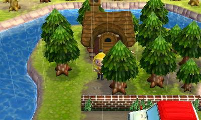 そんな山の中の喫茶店に入ったことがありますが、こんな感じだったなあと作りながら思い出しました