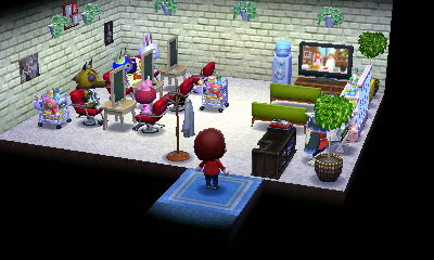 未公開ネタでしたが、公共施設2店舗目の商店で美容院を作りました。繁盛しています。