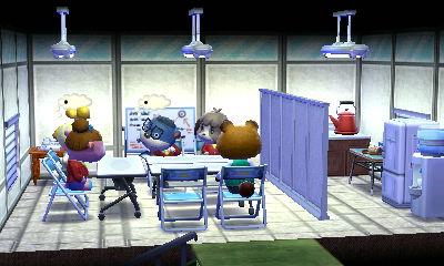 2階は会議室。空いたスペースに給湯室を作りました。何故かこのレイアウトの2階がお気に入りです。
