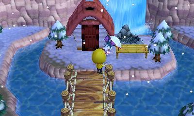 質素な場所を選んだつもりですが、逆に温泉宿としては一等地のような気が…。足湯スペースもあります。