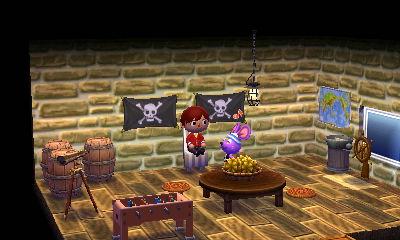 海賊王のイメージで中央に偉そうな椅子を。もっと偉そうな椅子があれば良かったのですが今は持ち合わせておらず。もっと子分(仲間)が居れば見栄えもしそうです。