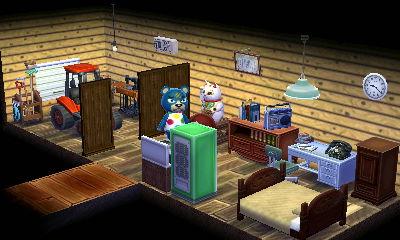 中は納屋を改造したような事務所スペースも作りました。農業王の夢はここから始まる。