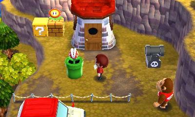 とりあえず外にいろいろと。ブロックは一応土管の上で浮いているように見せるために工夫したつもりです。キラーの大砲はボタンを押したら連射出来ますし、マリオパーツはオールドファン好みな仕掛けが多いです。