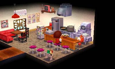 未公開画像その1:タイシ様「行列の出来るラーメン店」。中華料理屋っぽいかんじで。ちなみに外は行列用レーンを作ったりとか。