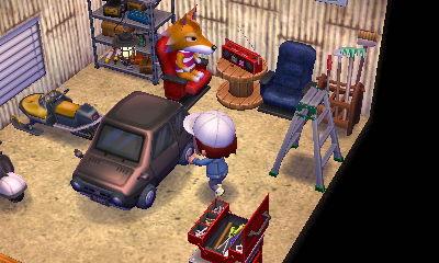 未公開画像その4:チーフ様「仲間と集うガレージ空間」。ガレージの中はあこがれ込みで作り込んでしまいました。そういえば「シムズ」でもおんなじだったなあと。
