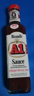 「Brand's A1 Sauce」沖縄ではポピュラーなソースらしいです。