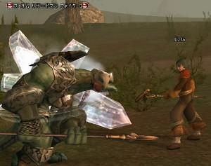 Uzla。今現在Lv23。ヒーラーだがソロ狩り中心で攻撃魔法ガンガン。